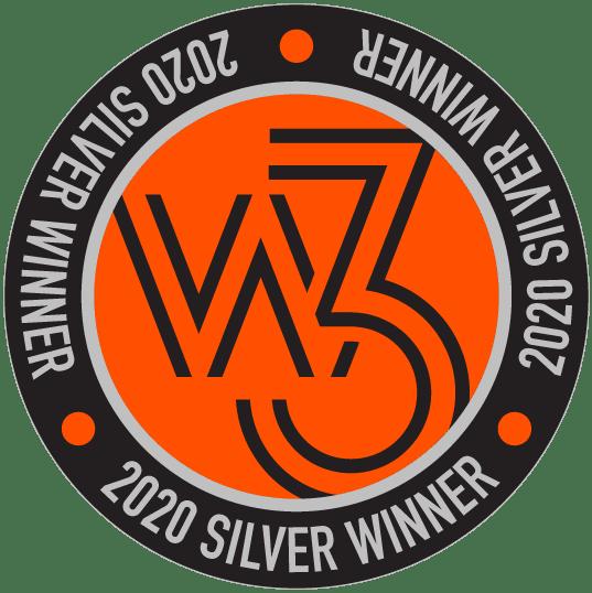 W3 2020 Silver Winner