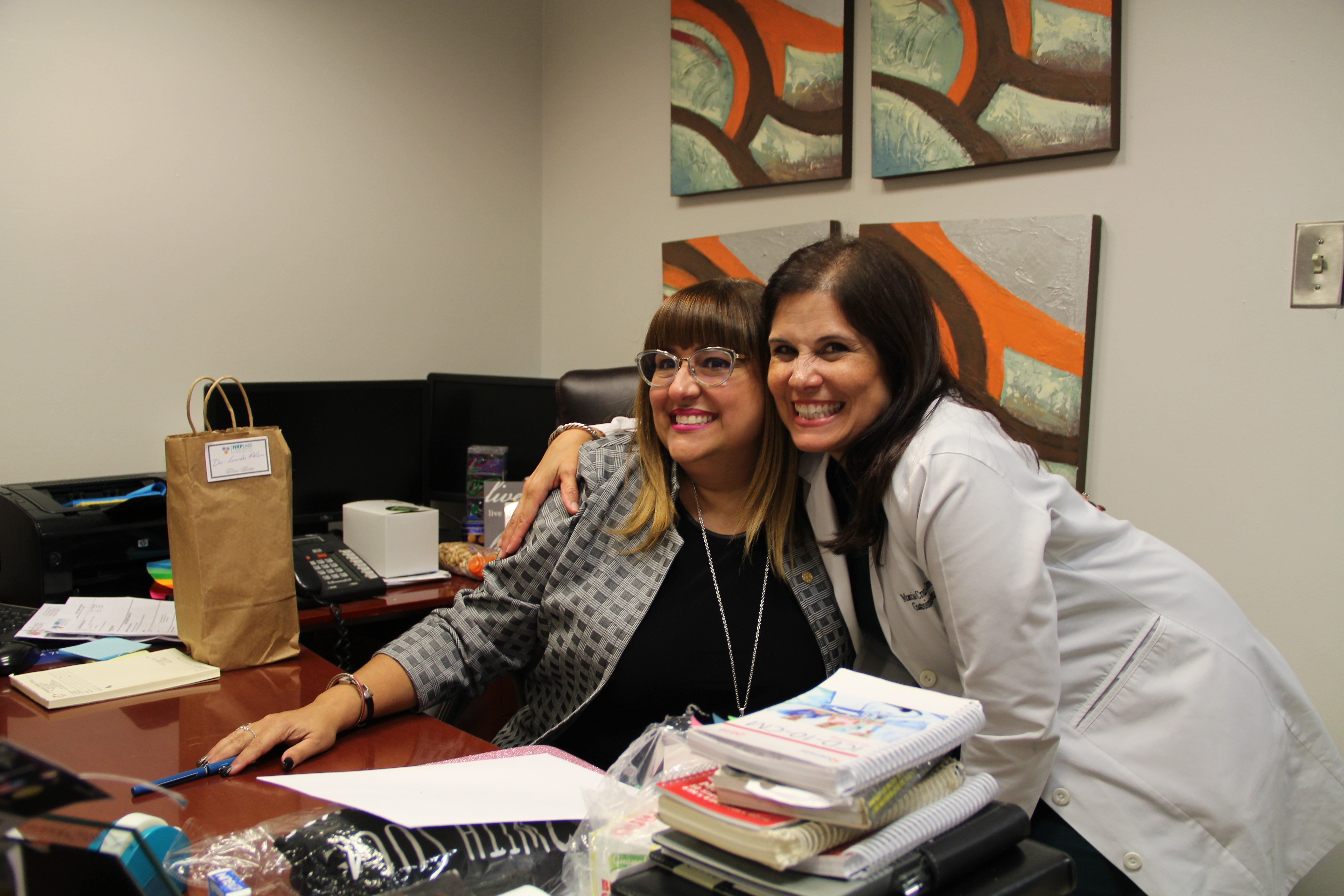 Lourdes Feliciano Lopez, MD, and Marcia Cruz-Correa, MD, PhD