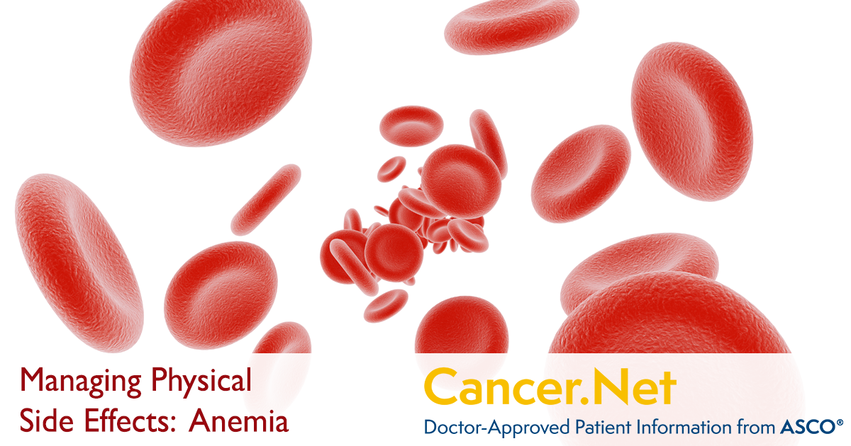 Anemia | Cancer.Net