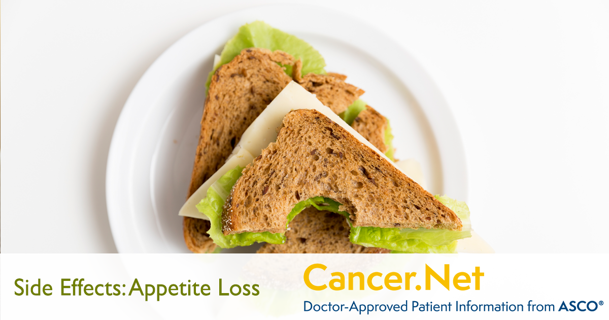 Appetite Loss | Cancer Net