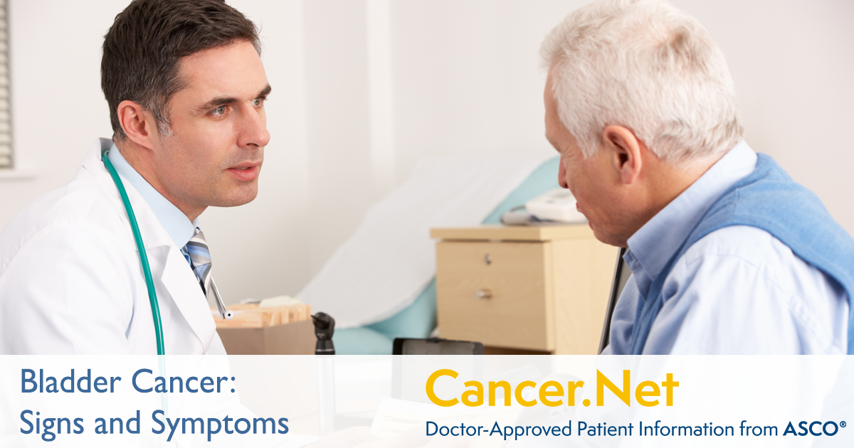 Bladder Cancer Symptoms And Signs Cancer Net