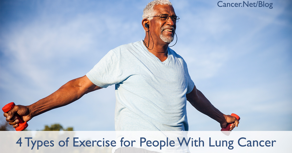 The Benefits of Exercise for People With Lung Cancer