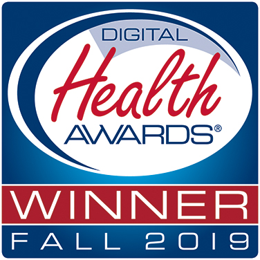 Digital Health Awards ® Winner, Fall 2019