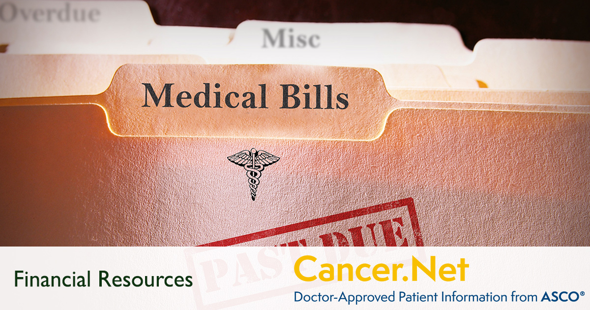 Financial Resources Cancer Net