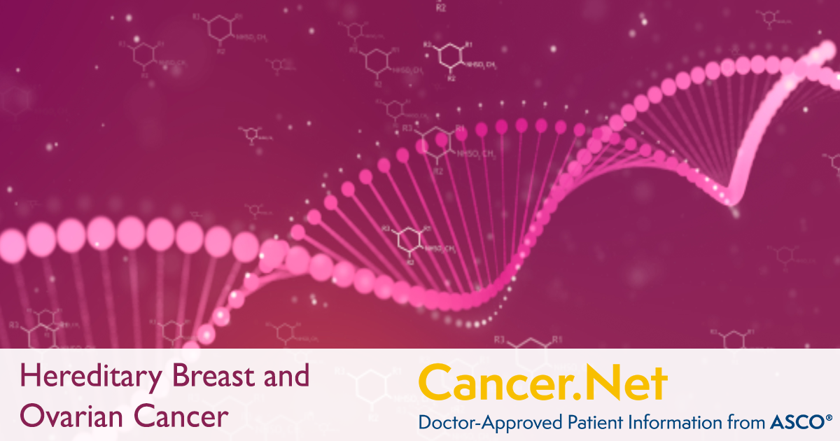 Hereditary Breast And Ovarian Cancer Cancer Net