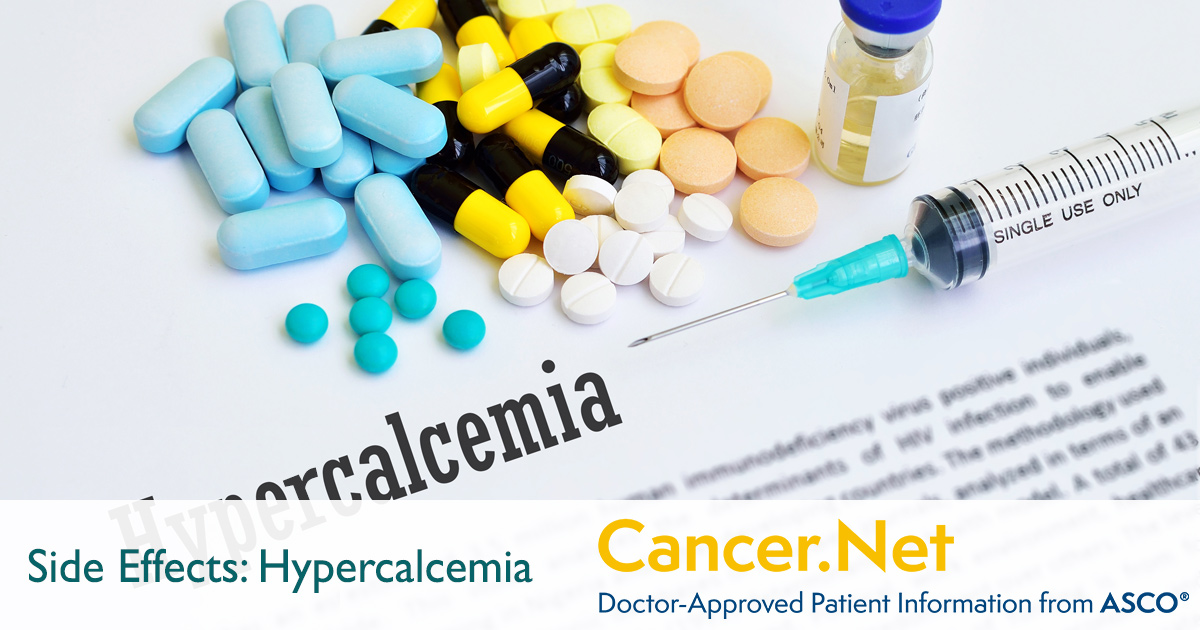 High Calcium Levels or Hypercalcemia | Cancer Net