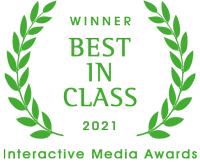 Winner Best in Class 2021; Interactive Media Awards