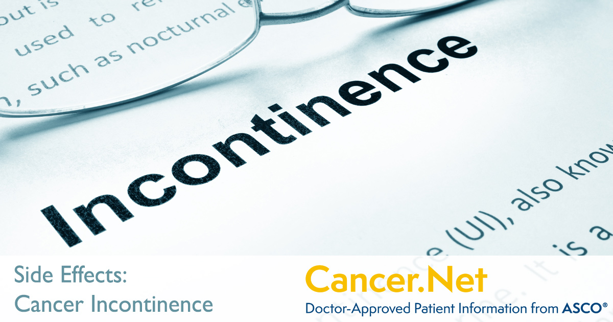 Urinary Incontinence | Cancer Net