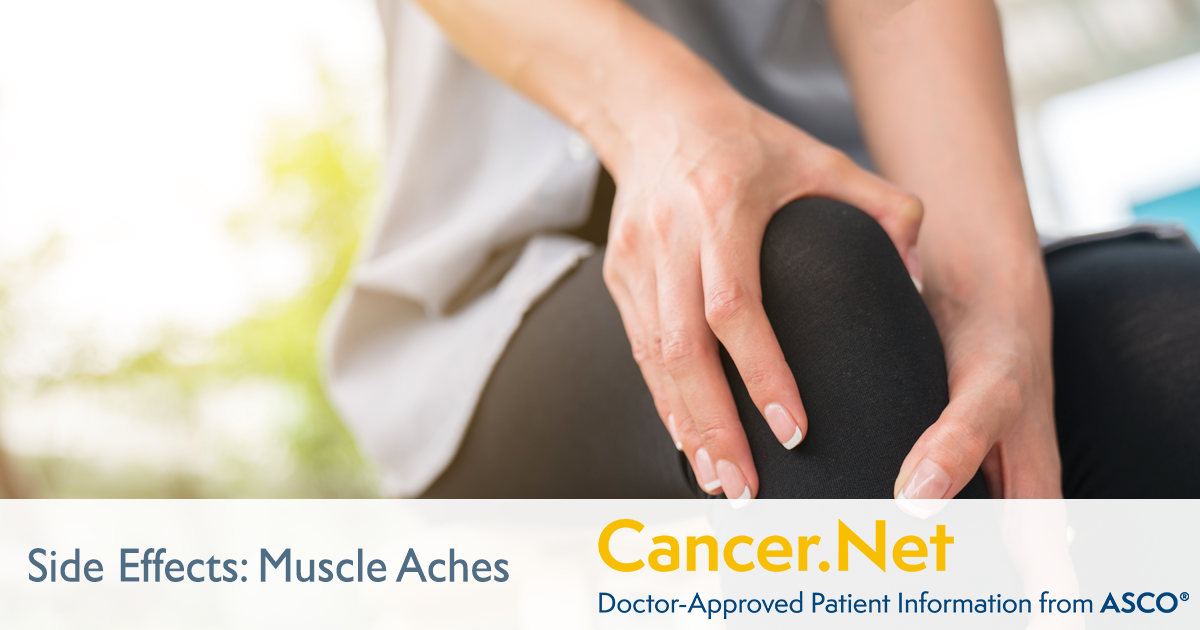 Muscle Aches Cancer Net