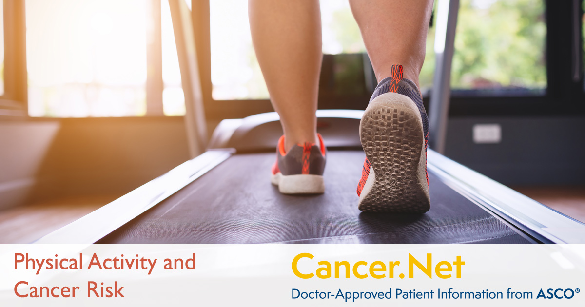 Physical Activity And Cancer Risk Cancer Net