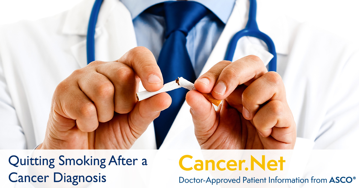 Quitting Smoking After a Cancer Diagnosis, with Anthony
