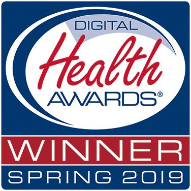 Digital Health Awards; Winner, Spring 2019