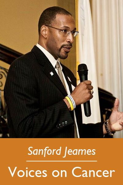 Sanford Jeames | Voices on Cancer