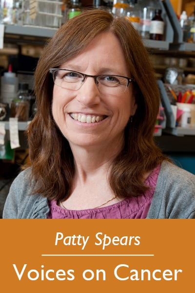 Patty Spears - Voices on Cancer