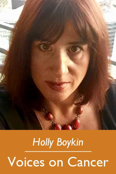 Holly Boykin; Voices on Cancer