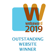 WebAward 2019 Outstanding Website Winner
