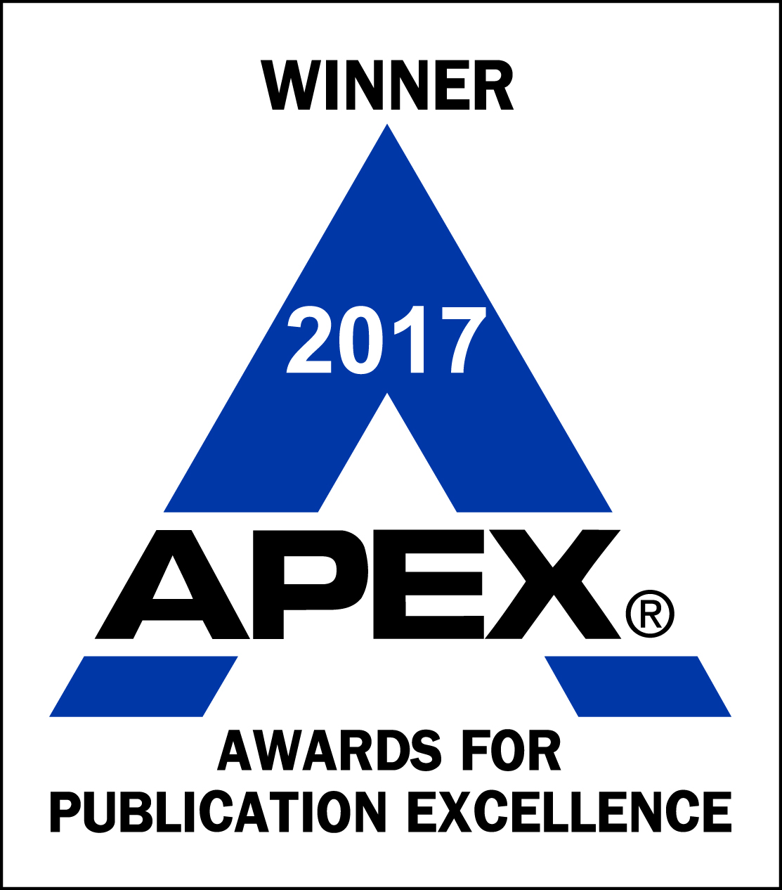 Winner 2017 APEX ® Awards for Publication Excellence
