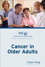 Cancer in Older Adults booklet cover