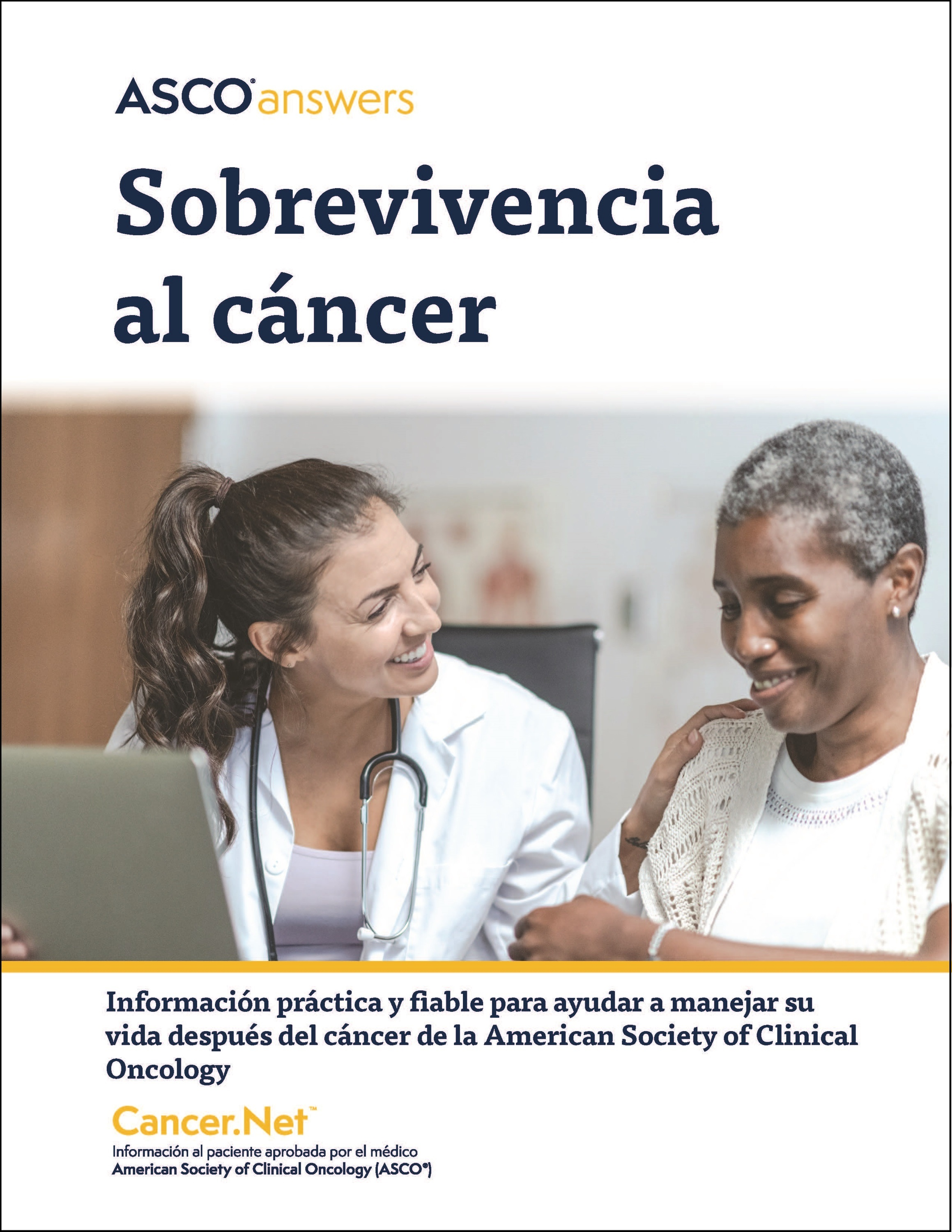Spanish Cancer Survivorship Booklet Cover
