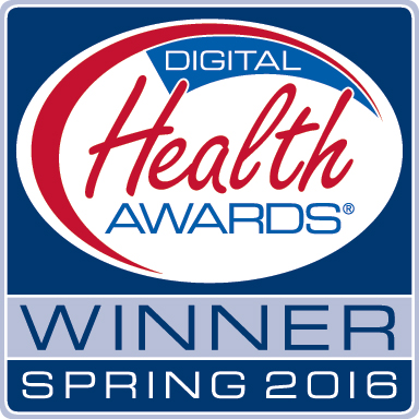 Digital Health Awards ® Winner Spring 2016