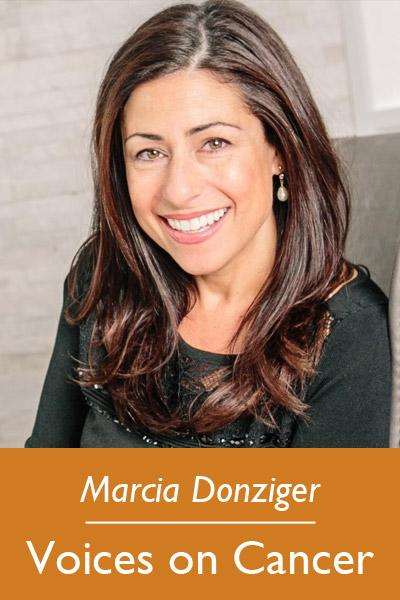Marcia Donziger - Voices on Cancer