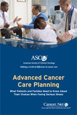 Advanced Cancer Care Planning Booklet Cover